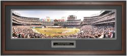 Texas Rangers Opening Day 2002 at The Ballpark in Arlington Framed Unsigned Panoramic Photograph with Suede Matte - Mounted Memories
