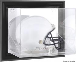 Texas Tech Red Raiders Black Framed Wall-Mounted Helmet Display Case