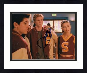THAD LUCKINBILL signed (BUFFY THE VAMPIRE SLAYER) 8X10 photo R.J BROOKS W/COA #2