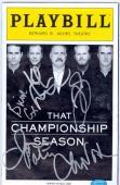 That Championship Season Playbill Program autographed by Kiefer Sutherland, Brian Cox, Chris Noth, Jason Patrick, & Jim Gaffigan (SCNTP)