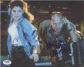 The Abyss Cast Harris & Mastrantonio Autographed Signed 8x10 Photo PSA/DNA AFTAL