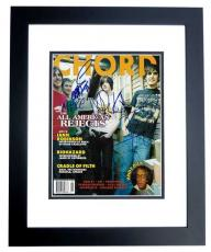The All American Rejects Signed - Autographed Complete Group Chrod Magazine BLACK CUSTOM FRAME - Guaranteed to pass PSA or JSA - Tyson Ritter, Nick Wheeler, Mike Kennerty, and Chris Gaylor