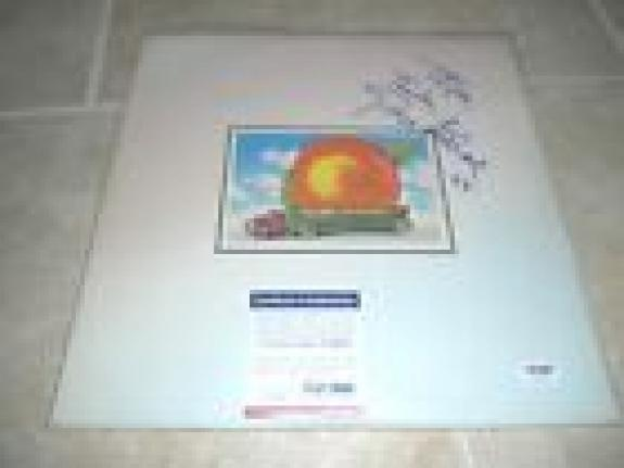 The Allman Brothers Band Gregg Signed Autographed LP Album PSA Certified
