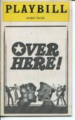 The Andrew Sisters John Travolta Douglass Watson Over Here! 1974 Playbill