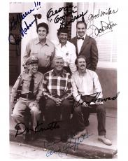 "THE ANDY GRIFFITH SHOW"" Signed by 6! - ANDY GRIFFITH, RON HOWARD, DON KNOTTS, GEORGE LINDSEY, JACK DODSON, and JIM NABORS 8x10 B/W Photo"