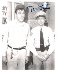 "THE ANDY GRIFFITH SHOW"" Signed by DON KNOTTS as BARNEY FIFE - Passed Away 2006 - Signed 8x10 B/W Photo"