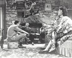 "THE ANDY GRIFFITH SHOW"" Signed by ELINOR DONAHUE as ELLIE and JAMES BEST as JIM - 10x8 B/W Photo"