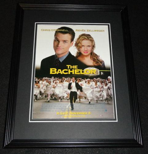 The Bachelor 1999 Framed 11x14 ORIGINAL Advertisement Chris O'Donnell