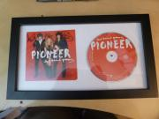 The Band Perry Framed Autographed Pioneer Cd Cover Target Special Edition Signed