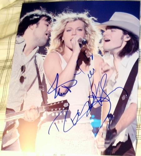 The Band Perry Signed Autograph Full Group On Stage Performance 8x10 Photo Coa