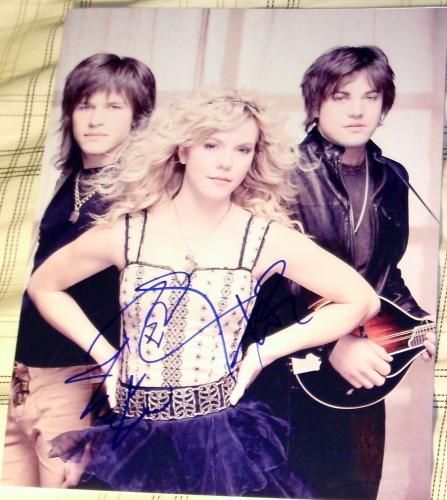 "The Band Perry Signed Autograph Full ""if I Die Young"" Promo Art 8x10 Photo Coa"