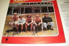 The Beach Boys Brian Wilson +2,california Girls Jsa/coa Signed Lp Record Album