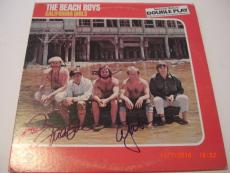 The Beach Boys Brian Wilson +2,california Girls Jsa/coa Signed Lp Record Album