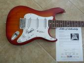 The Beach Boys Brian Wilson & Mike Love Signed Autographed Guitar PSA Certified