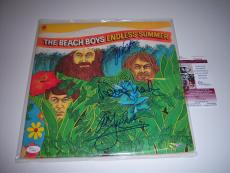 The Beach Boys Mike Love,endless Summer 3 Sigs Jsa/coa Signed Lp Record Album