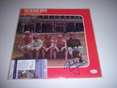 The Beach Boys Mike Love,california Girls 3 Sigs Jsa/coa Signed Lp Record Album