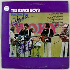 The Beach Boys Signed Autographed Album Record LP JSA Authentic