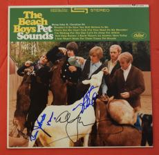 The Beach Boys Signed Autographed Pet Sounds Record Album by 4 Brian Wilson ++