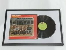 The Beach Boys Signed Framed California Girls Album Brian Wilson Love Al Jsa Loa