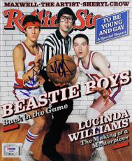 The Beastie Boys Mike D & MCA Signed Rolling Stone Magazine PSA/DNA #AC43031
