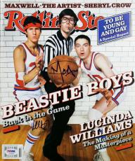 The Beastie Boys Mike D & MCA Signed Rolling Stone Magazine PSA/DNA #AC43032
