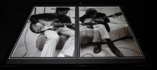 The Beatles 1966 John Lennon George Harrison Framed 16x20 Photo Display