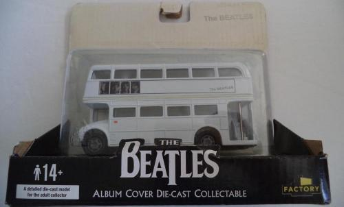 "The Beatles 2009 Album Cover Die-cast Collectable ""the Beatles"" Bus Rare"