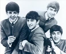 The Beatles 8x10 photo Paul McCartney, John Lennon, Ringo Starr, and George Harrison Image #1