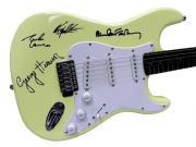 The Beatles Autographed Facsimile Signed Guitar Paul Mccartney John Lennon ++