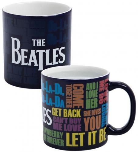 The Beatles Drop T Heat Reactive 20oz. Mug