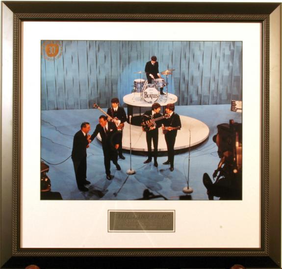 The Beatles - Ed Sullivan Show 16x20 Framed Photo