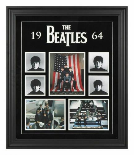 The Beatles Framed 20x27 1964 Photo Licensed Collage