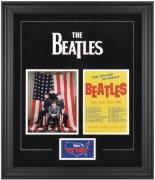 The Beatles Framed 1964 U.S. Tour Presentation