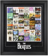 The Beatles Framed Singles Around The World Presentation