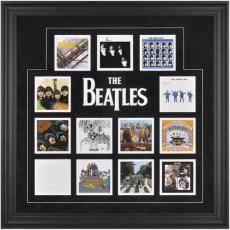 The Beatles Framed UK Album Covers Photo Collage
