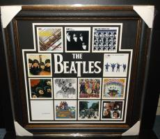 The Beatles John Lennon Paul Mcartney Album Cover Photo Framed