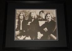 The Beatles John Lennon Paul McCartney George & Ringo Framed 11x14 Photo Poster