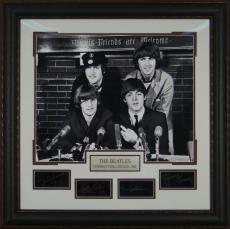 The Beatles - Laser Engraved Replica Signature Framed Displa