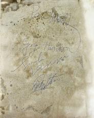 The Beatles McCartney Lennon Harrison Starr Signed 8 x 10 Photo MINT 9 PSA/DNA