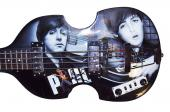 The Beatles Paul McCartney Autographed Airbrushed Hofner Guitar Preorder AFTAL