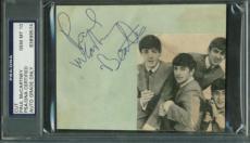 The Beatles Paul McCartney Signed Autographed 3x5 PSA/DNA GEM MINT 10