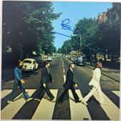 The Beatles Paul McCartney Signed Autographed Abbey Road Album Beckett BAS