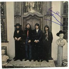 The Beatles Paul McCartney Signed Autographed Hey Jude Album Beckett BAS MINT 9