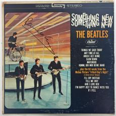 The Beatles Paul McCartney Signed Autographed Something New Album Beckett BGS 9