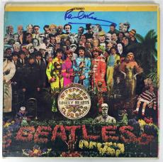 The Beatles Paul McCartney Signed Autographed Srgt Peppers Album LP PSA/DNA