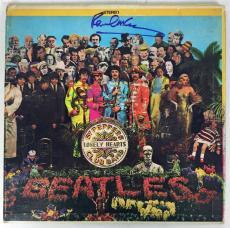The Beatles Paul McCartney Signed Autographed Srgt Peppers Album LP PSA/DNA