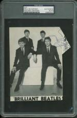 The Beatles Paul McCartney Vintage Signed Autographed 4x6 Photograph PSA/DNA