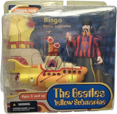 The Beatles Ringo Starr Signed Autographed Spawn Toy Unopened Beckett BAS