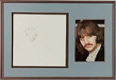 "The Beatles: Ringo Starr VINTAGE Signed ""The White Album"" PSA/DNA LOA"