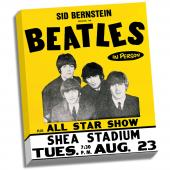The Beatles Shea Stadium 22 x 26 stretched canvas Paul McCartney John Lennon